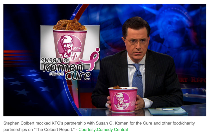 Stephen Colbert hypo-crispy