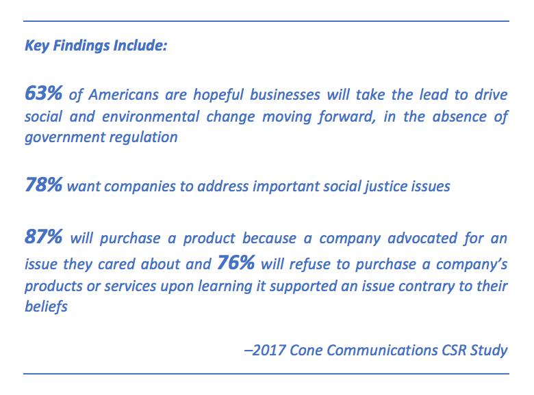 2017 Cone Communications CSR Study