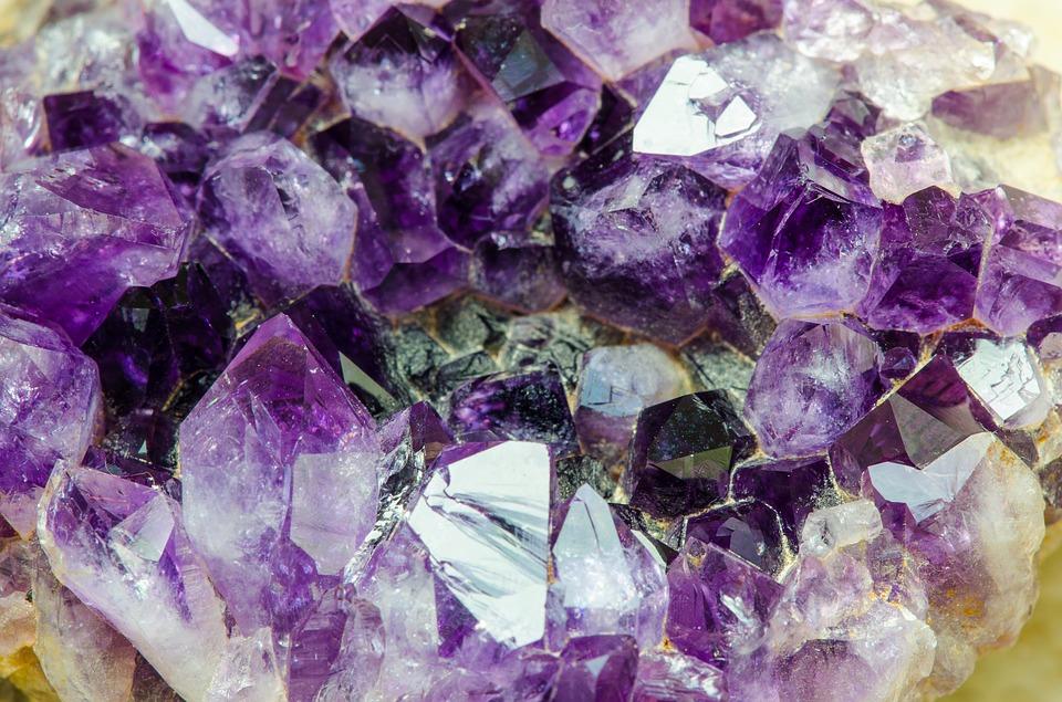 Amethyst gems sparkle at Amethyst Falls