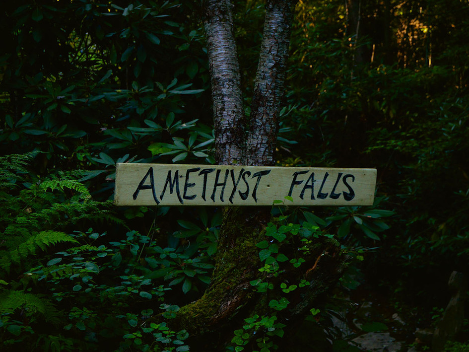 Amethyst Falls Wedding - An intimate and romantic waterfall venue for your special day