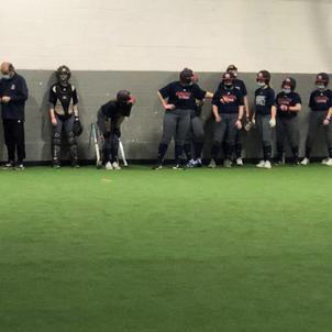 UofD Mercy Girls Softball Practice