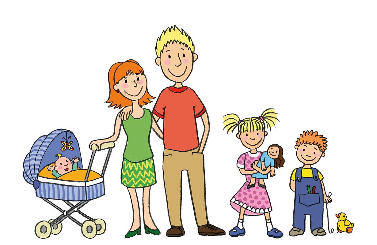 Eltern & Kind Teaserillustration