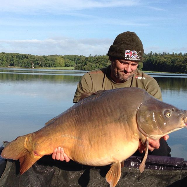 Happy days, 47lb 7oz and still catching.