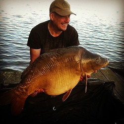 Steve Mckie and his new pb of 49lb 12pz.