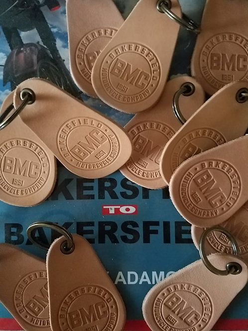 BMC-1951 Key Fobs (Leather. Made In USA)