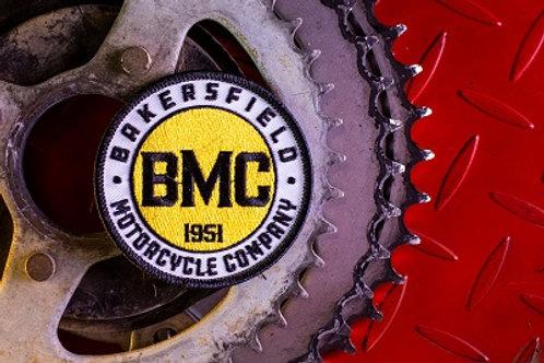 Round BMC Logo Patch