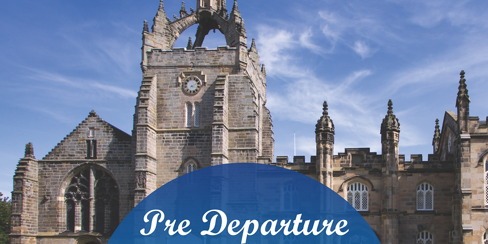 The University of Aberdeen: Pre Departure session