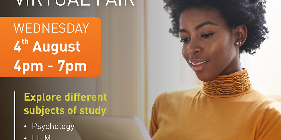 Distance Learning Virtual Open Day