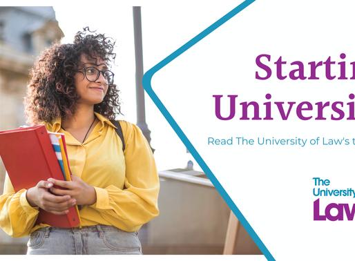 Top tips for starting University