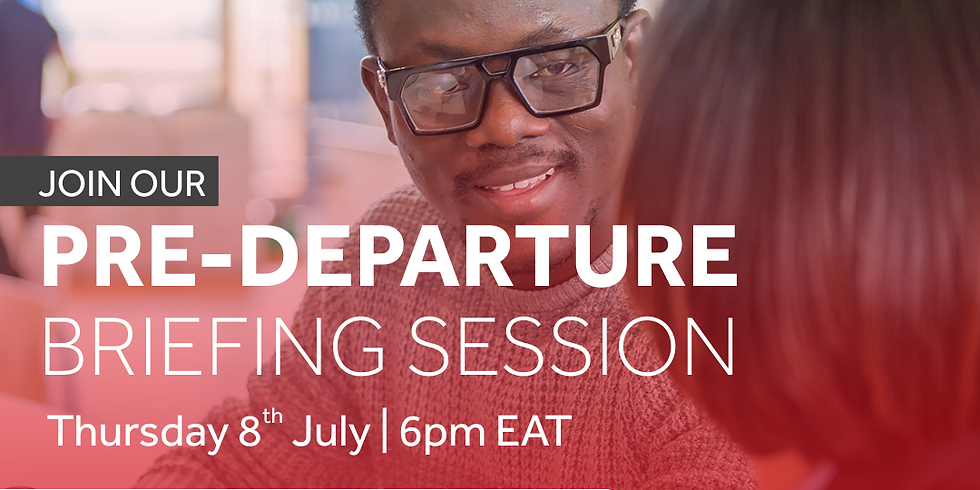 The University of Reading: Pre-departure Session