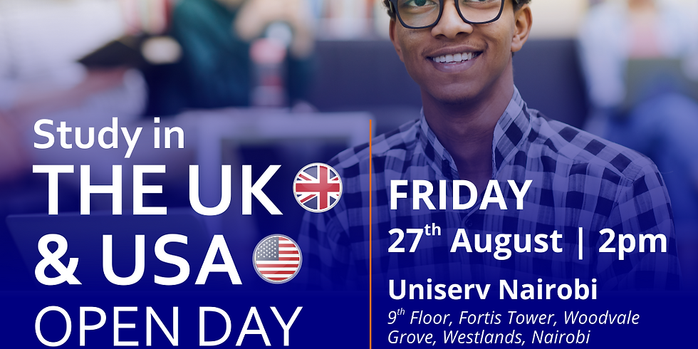 Study in the UK and the USA: Open Day
