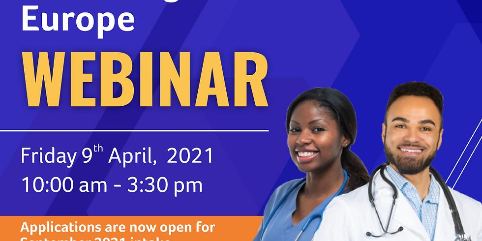 Study Nursing & Medicine in Europe