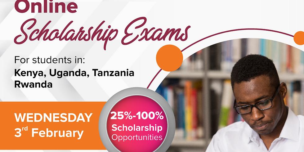 Online Scholarship Exams