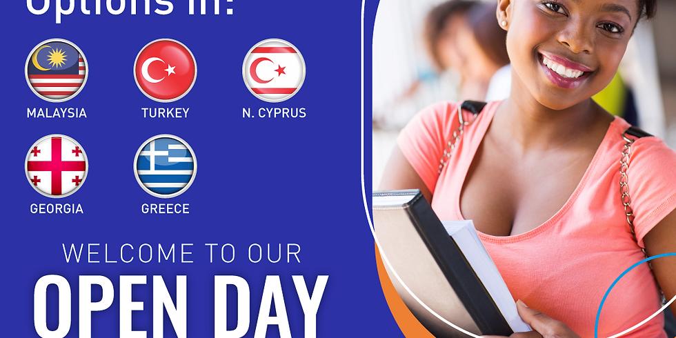 Nairobi Open Day: Malaysia, Turkey, Cyprus, Georgia, Greece