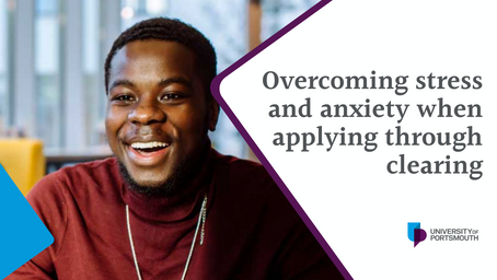 Overcoming stress and anxiety when applying through clearing