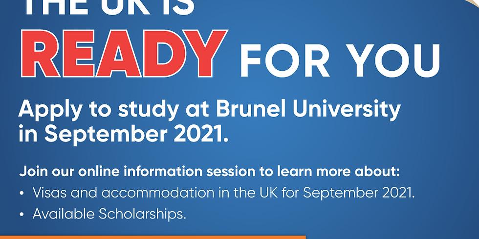 Brunel University: Pre-departure & Visa Session