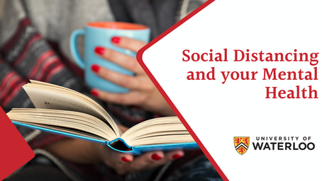 Social Distancing and your Mental Health