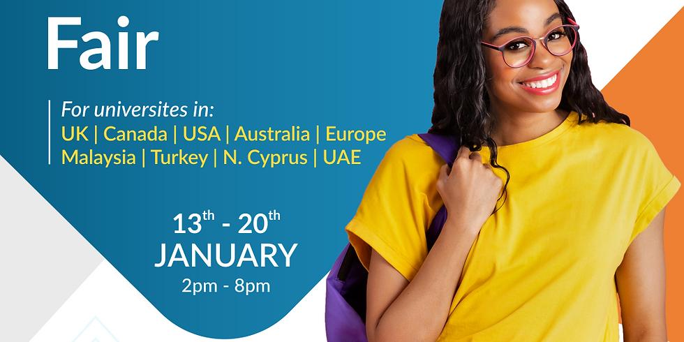 Study Abroad Virtual Fair