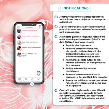 TUTO FONCTIONNEMENT • NOTIFICATIONS
