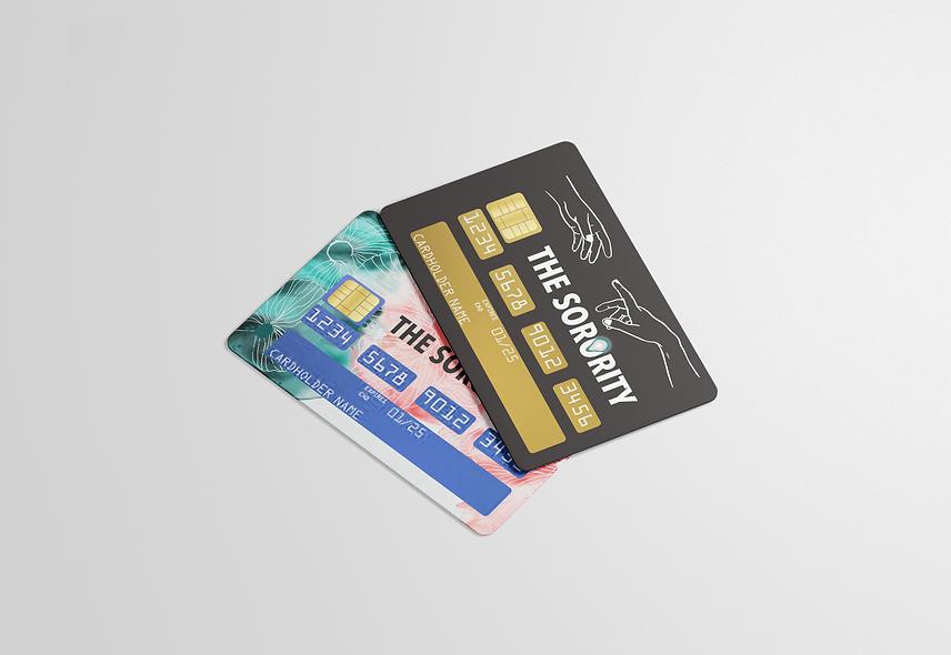 Kit custom stickers & carte bleue THE SORORITY