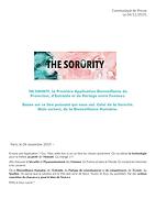 Communiqué de presse de THE SORORITY 02