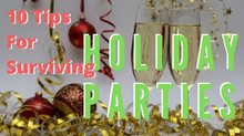 10 Tips to Survive Holiday Parties