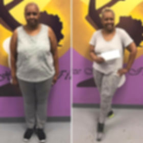 Size Healthy Fitess Client Transformation