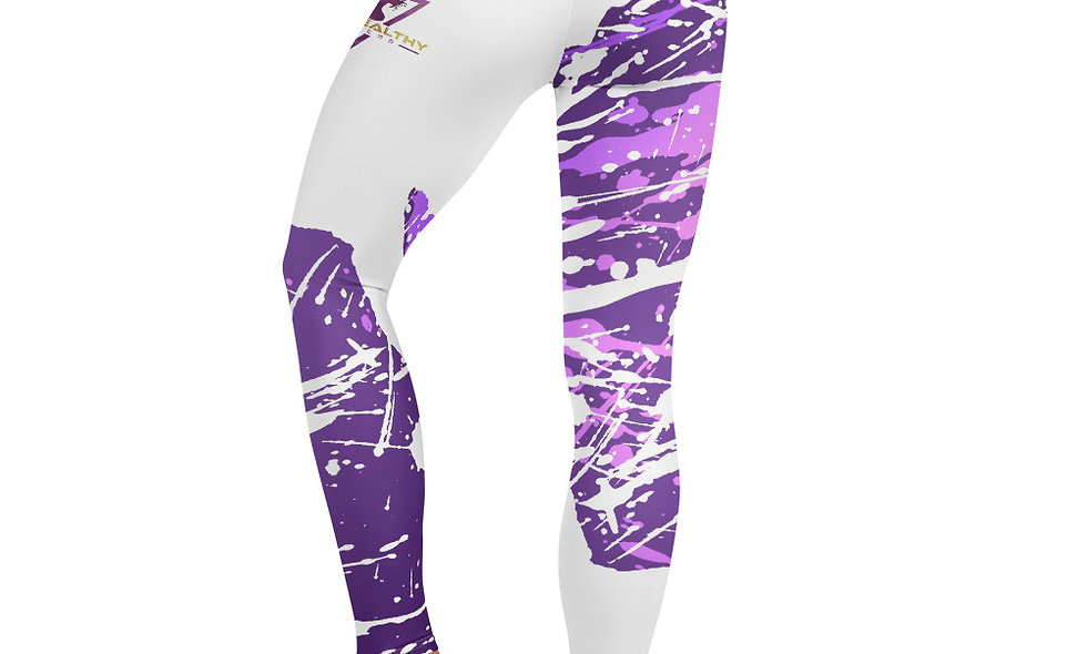 Purple Splash Diva Leggings