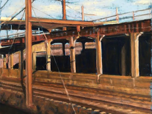 Copper Light, Train Shot, 2014