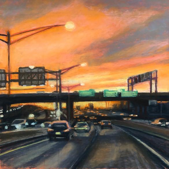 Going Home, Highway Shot, 2016