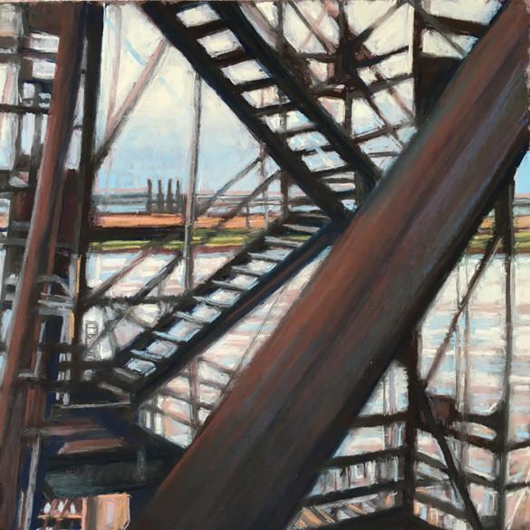 Industrial Web,Train Shot, 2013