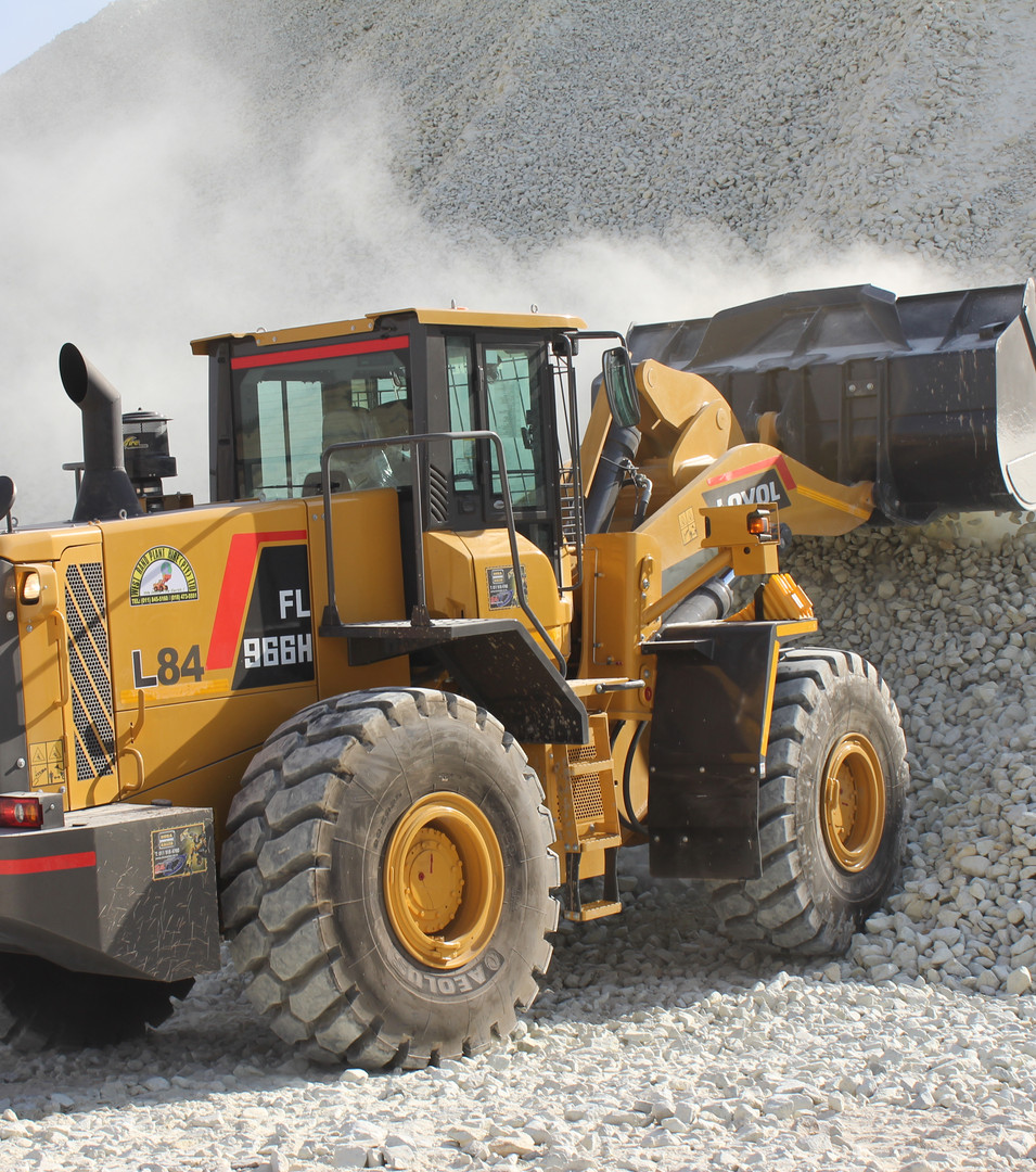 LOVOL 966H Loader Working Stockpile - West Rand Plant Hire
