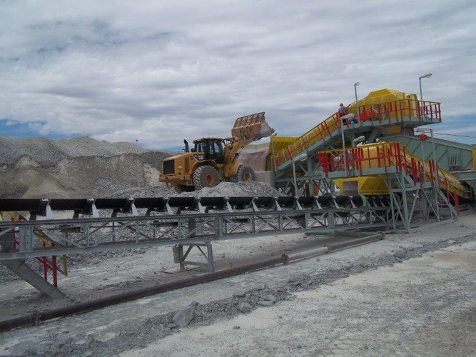 West Rand Plant Hire CAT Loader Working