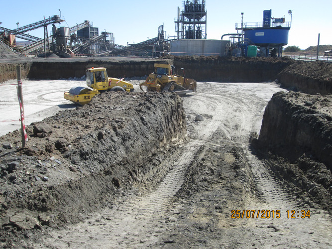 West Rand Plant Hire - Civils 2 CAT Dozer and BELL Roller