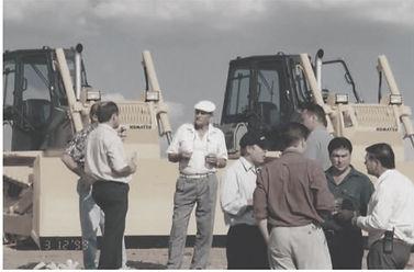 Komatsu Bulldozer Handover - Gert du Randt (Snr) - West Rand Plant Hire