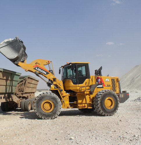 LOVOL 966H Loader Loading Truck - West Rand Plant Hire