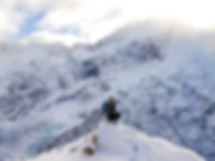 Alpine hiking in Aoraki/Mount Cook National Park