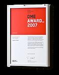 Заслуги компании AQUATOR в области дизайна отмечены наградой DME Award (DesignManagement Europe Award)