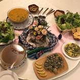 Homemade Cambodian dinner
