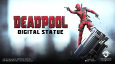 Deadpool Statue | Kfir Merlaub Art