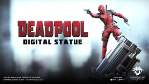 Deadpool Statue | Kfir Merlaub Art