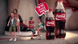 """Coca Cola """"Mini Me"""""""