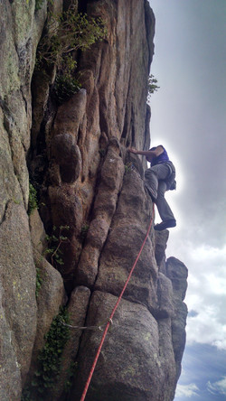 Following Multi-Pitch Climb