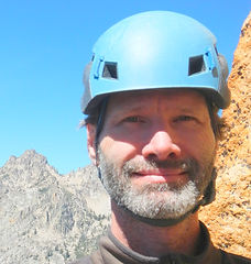 Scott Sinor Bio Photo, Elephant's Perch Rock Climbing, Idaho Outdoor Rock Climbing