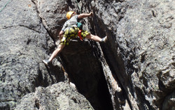 Climbing a Chimney