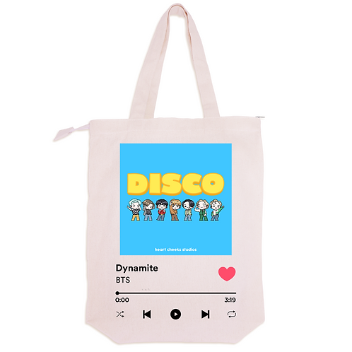 BTS DISCO SPOTIFY by Heart Cheeks Studios
