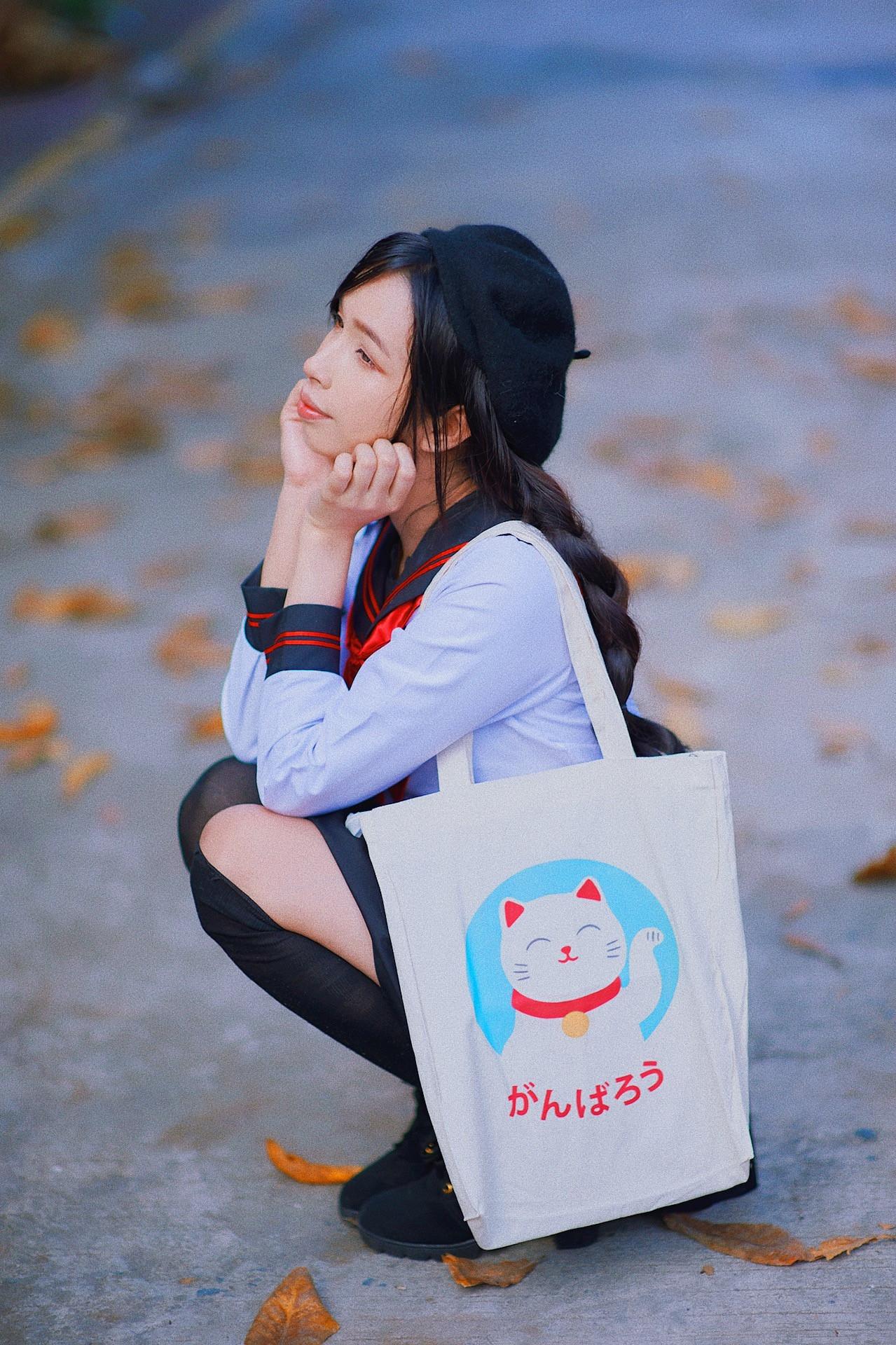Maneki Neko Tote by artsykit®