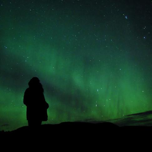 Icelandic auroras are massive