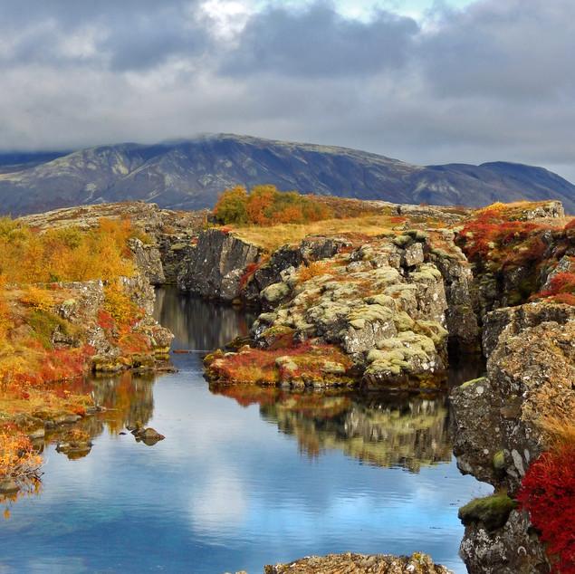 Reflection in Pingvellir