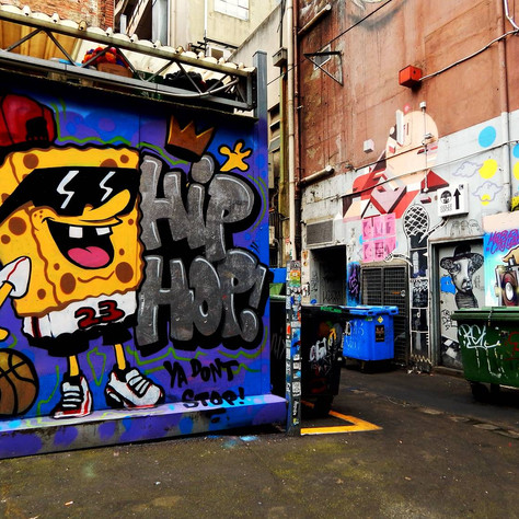 Hip hop! Ya don't stop!